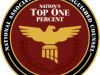 Nation's Top One Percent Badge