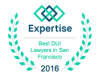 Best DUI Lawyers In San Francisco Badge